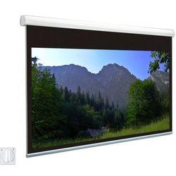 Ekran elektryczny Avers Solaris 350x350cm, 1:1, White Ice