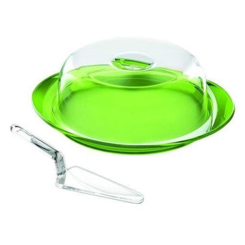 Tace i patery, Guzzini - zestaw do ciasta - Feeling - zielona - zielona