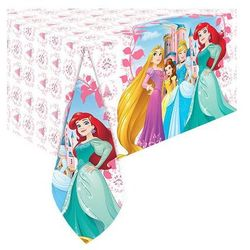 Obrus urodzinowy Princess - Księżniczka - 120 x 180 cm - 1 szt.