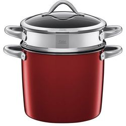 Silit - garnek z wkładem do gotowania makaronu 8,5 l Vitaliano Rosso
