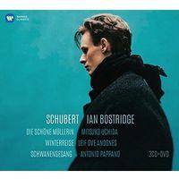 Pozostała muzyka rozrywkowa, SCHUBERT - WINTERREISE, DIE SCHONE MULLERIN, SCHWANENGESANG (CD+DVD) (Płyta CD)