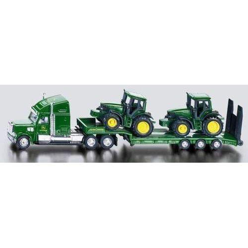 Traktory dla dzieci, Siku Farmer - Ciężarówka z naczepą + 2 traktory