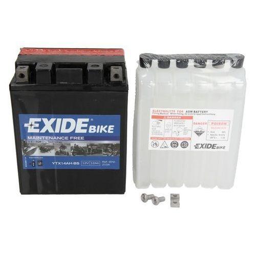 Akumulatory do motocykli, Akumulator EXIDE BIKE AGM YTX14AH-BS