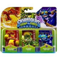 SKYLANDERS SWAP FORCE SLOBBER TOOTH POP FIZZ ERUPTOR
