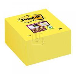 Karteczki samoprzylepne Post-it, kostka ultra żółta,76x76mm, 350 karteczek, 2028