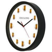 Zegary, Zegar kwarcowy na ścianę dla piwosza