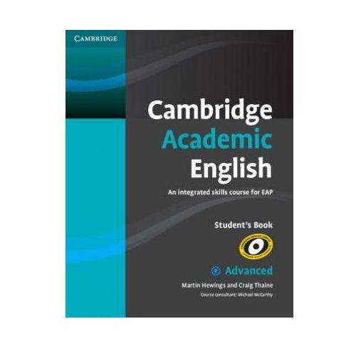Książki do nauki języka, Cambridge Academic English C1 Advanced Student's Book (podręcznik) (opr. miękka)