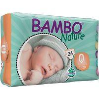 Pieluchy jednorazowe, BAMBO Nature Premature (1-3kg) 24 szt. - pieluszki jednorazowe
