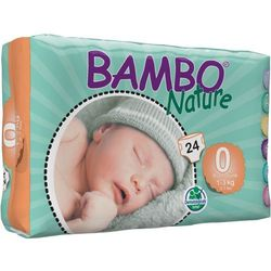 BAMBO Nature Premature (1-3kg) 24 szt. - pieluszki jednorazowe
