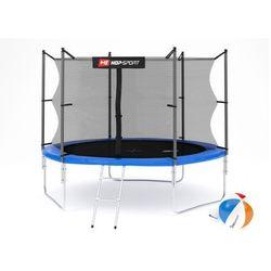 Trampolina Hop-Sport 10ft (305cm) z siatką wewnętrzną - 3 nogi