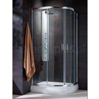 Kabiny prysznicowe, Radaway Premium plus e 80 x 90 (30492-01-08N)