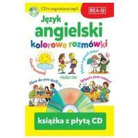 Książki do nauki języka, Język angielski kolorowe rozmówki - praca zbiorowa (opr. miękka)