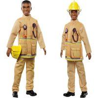 Pozostałe zabawki, BARBIE Kariera I can be Ken Strażak FXP05