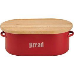 Pojemnik na chleb z deską do krojenia Vintage Typhoon czerwony (1400.613)