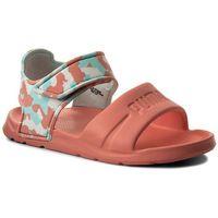 Sandały dziecięce, Sandały PUMA - Wild Sandal Injex Camo PS 365081 03 Soft Fluo Peach/Puma White