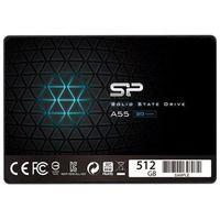 "Dyski do notebooków, Dysk SSD Silicon Power A55 512GB 2.5"" SATA3 (560/530) 3D NAND, 7mm"