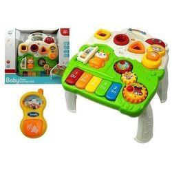 Stolik edukacyjny dla niemowlaka pianinko