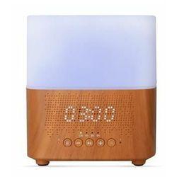 Aromacare ultradźwiękowy dyfuzor zapachowy Samaya light z zegarem i głośnikiem BT, jasne drewno, 300 ml