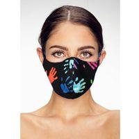 Maski antysmogowe, Maska ochronna na twarz bawełniana streetwear łapki