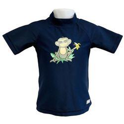 Koszulka kąpielowa bluzka dzieci 76cm filtrem UV50+ - Navy Jungle \ 76cm