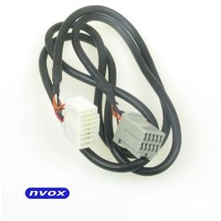 NVOX CAB1080A CHRYSLER 10PIN Kabel do zmieniarki cyfrowej emulatora MP3 USB SD CHRYSLER JEEP DODGE 10PIN