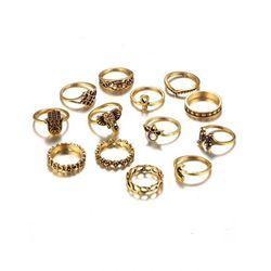 Zestaw damskich pierścionków Estilo Sabroso Es04941