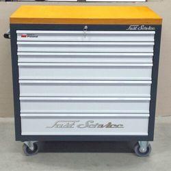 Wózek narzędziowy - 7 szuflad - do warsztatu, do fabryki, linia produkcyjna