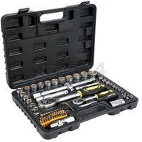 """Zestawy narzędzi ręcznych, ZESTAW NARZĘDZIOWY 1/2"""", 1/4"""", 72 CZ., M"""