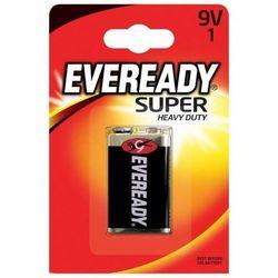 Bateria EVEREADY Super Heavy Duty, E, 6F22,9V
