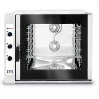Piece i płyty grzejne gastronomiczne, Hendi Piec konwekcyjno-parowy 6 x GN2/1 | elektryczny | sterowanie manulane | 400V | 18,4kW - kod Product ID