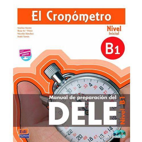 Książki do nauki języka, El cronometro nivel inicial B1 + CD (opr. miękka)