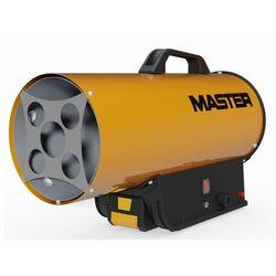 Nagrzewnica gazowa Master BLP 17M DC z reduktorem, przewodem gazu, ładowarką -zasilana z akumulatora