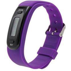 Zegarek Sportowy - Krokomierz - JAMI Smart Electronic - Model: W44 VIOLET