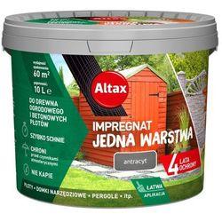Impregnat Altax Drewno Beton antracyt 10 l