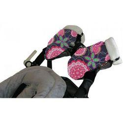 Mufki do wózka Tris & Ton FLORAL ROSA