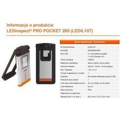Wyposazenie Warsztatow Lampa Warsztatowa Ledinspect Pro Pocket 280 /gwarancja 36M/ 280 Lumen Szt Osram
