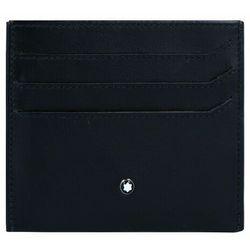 Montblanc My Montblanc Nightflight Etui na karty RFID skórzana 10 cm schwarz ZAPISZ SIĘ DO NASZEGO NEWSLETTERA, A OTRZYMASZ VOUCHER Z 15% ZNIŻKĄ