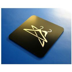 Piktogram, Symbol, Znak Szatnia 10 x10 cm CN