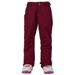 spodnie dziewczęce BURTON - Girls Sweetart Pt Sangria (502) rozmiar: M