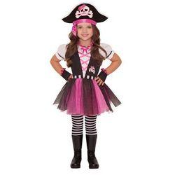 Kostium Różowa Piratka dla dziewczynki - 5/7 lat (116)