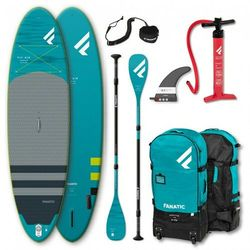 """Fanatic Fly Air Premium/C35 SUP Package 9'8"""" Inflatable SUP with Paddle and Pump 2021 Deski SUP"""