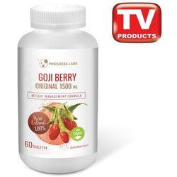 Goji Berry Original 1500mg 60 tabletek - silne uderzenie w odchudzanie