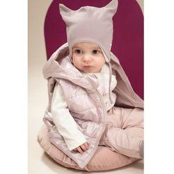 Czapka niemowlęca wiązana szara 6X40AU Oferta ważna tylko do 2031-10-04