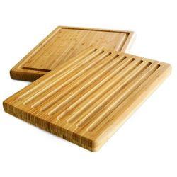 Dwustronna deska do krojenia, 39 x 30 cm, 100% bambus, ZELLER