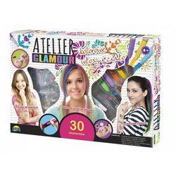 Atelier Glamour, Kolorowe włosy i ciało - Dromader