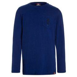 Scotch Shrunk LONG SLEEVE WITH SMALL ARTWORK Bluzka z długim rękawem yinmn blue