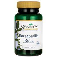 Preparaty do nosa, Swanson Sarsaparilla (Kolcorośl) 450mg - (60 kap)
