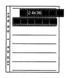 Kaiser Folia na negatywy acetanowa 24x36 100szt