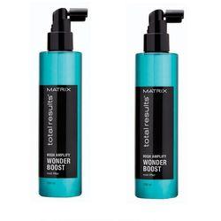 Matrix Zestaw Total Results High Amplify Wonder Boost Root Lifter - Płyn odbijający włosy u nasady 250ml x2