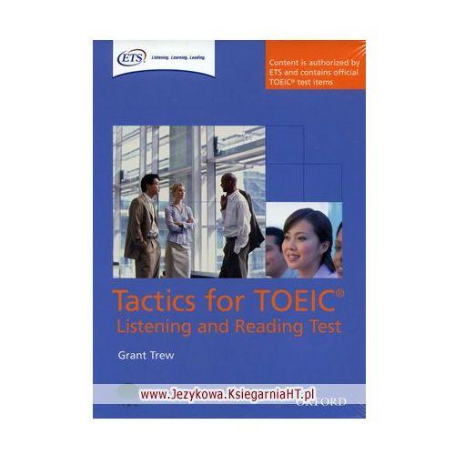 Książki do nauki języka, Tactics for TOEIC Listening And Reading Test Pack Książka Ucznia Plus Zestaw 4 Płyt Audio CD (opr. miękka)
